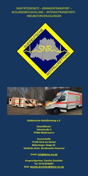 SNR Flyer