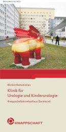 Klinik für Urologie und Kinderurologie - Knappschaftskrankenhaus ...