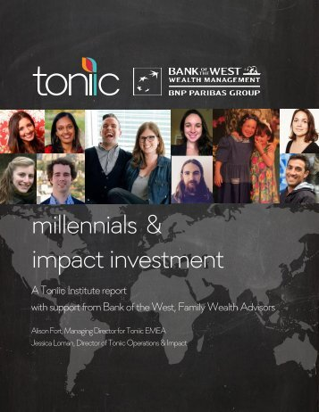 Toniic Bank of the West Bank of the West Family Wealth Advisors
