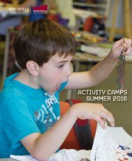 Activity camps summer 2016