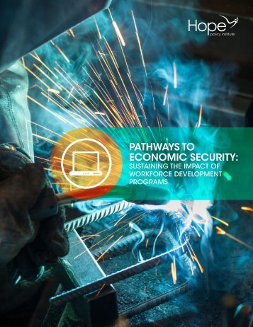 PATHWAYS TO ECONOMIC SECURITY