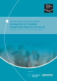 AN ANALYSIS OF TOURING EXHIBITIONS PRACTICE IN THE UK