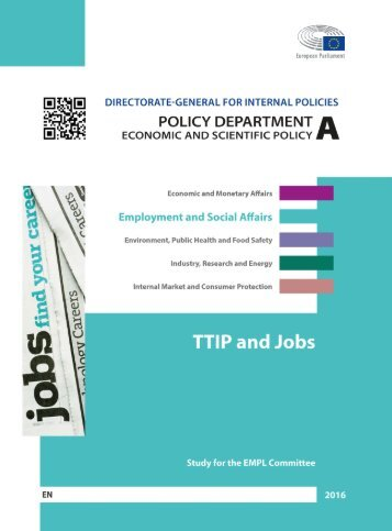 TTIP and Jobs