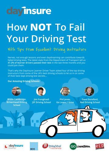 How NOT To Fail Your Driving Test