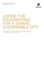 Laying the foundations for a smart sustainable city