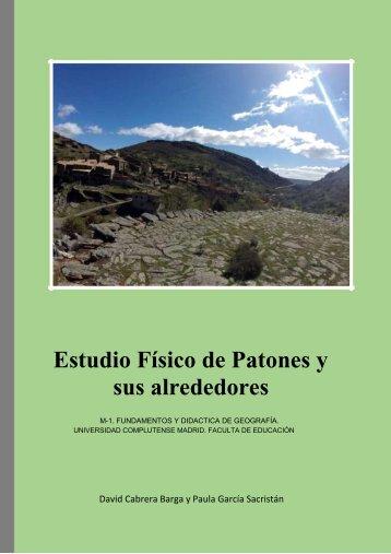 PATONES Y SU ENTORNO