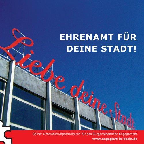 EHRENAMT FÜR DEINE STADT!