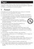 Philips SalonDry 'n Straight Sèche-cheveux - Mode d'emploi - HUN - Page 3