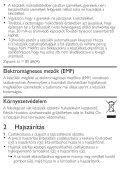 Philips SalonDry 'n Straight Sèche-cheveux - Mode d'emploi - HUN - Page 4