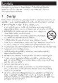 Philips SalonDry 'n Straight Sèche-cheveux - Mode d'emploi - LAV - Page 3
