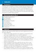 Philips SalonDry 'n Straight Sèche-cheveux - Mode d'emploi - MSA - Page 6