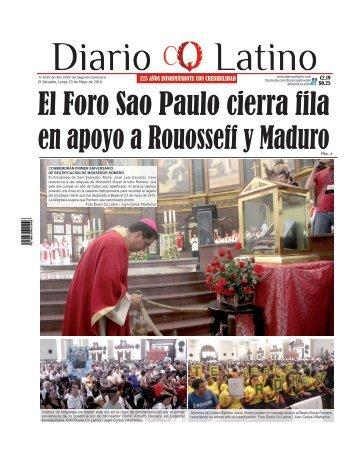 Edición 23 de Mayo de 2016