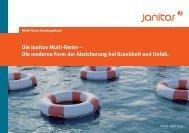 Die Janitos Multi-Rente – Die moderne Form der Absicherung bei ...