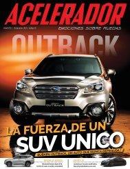 Revista Acelerador - Mes de Mayo, Edición 30