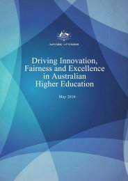 Driving Innovation Fairness and Excellence in Australian Higher Education