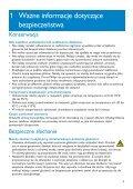 Philips GoGEAR Baladeur audio à mémoire flash - Mode d'emploi - POL - Page 5