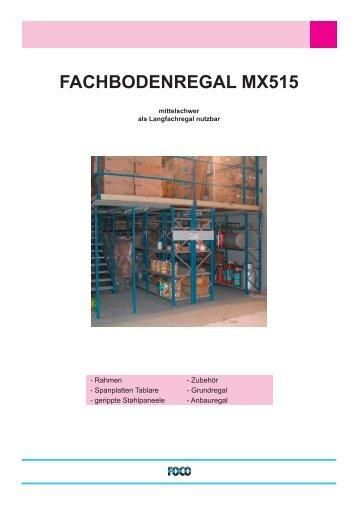 FACHBODENREGAL MX515