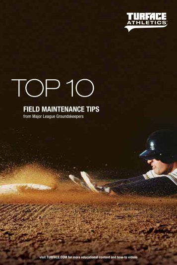 Turface Top Ten Field Maintenance Tips - GrowerCentral