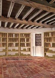 Retrospettiva di un inventario al futuro - Biblioteche Filosofiche ...