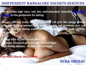 Wonderful Collection of Beautiful Bangalore Escorts