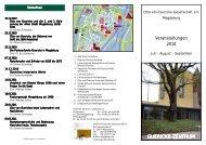 Veranstaltungen 2010 - Otto-von-Guericke-Universität Magdeburg