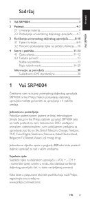 Philips Perfect replacement Télécommande universelle - Mode d'emploi - HRV - Page 3