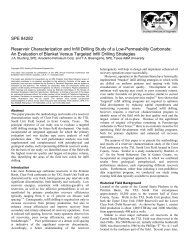SPE 84282 Reservoir Characterization and Infill Drilling Study of a ...