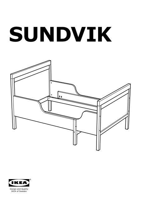 Ikea Letto Allungabile.Ikea Sundvik Struttura Letto Allungabile E Doghe S59041659