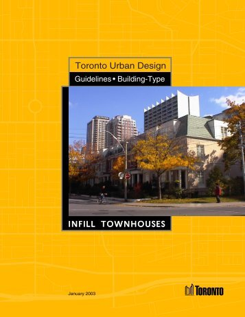 Toronto Urban Design - City of Toronto
