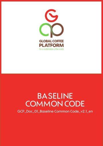 BASELINE COMMON CODE