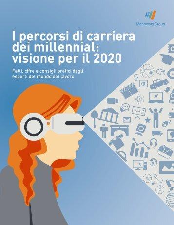 I percorsi di carriera dei millennial visione per il 2020