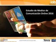 Estudio de Medios de Comunicación Online 2016