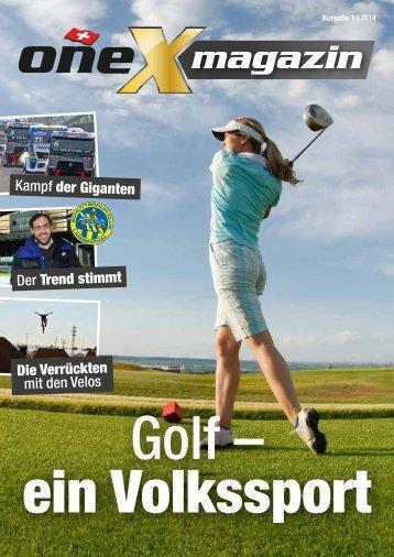 oneX magazin 01.2014