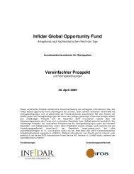 Infidar Global Opportunity Fund - fundinfo.com
