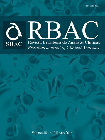 Brazilian Journal of Clinical Analyses