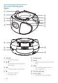 Philips Lecteur de CD - Mode d'emploi - TUR - Page 5