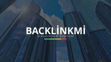 backlink kaynakları stratejileri