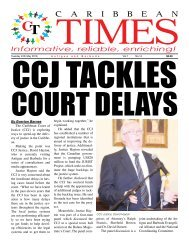 Caribbean Times 14th Issue - Tuesday 24th May 2016