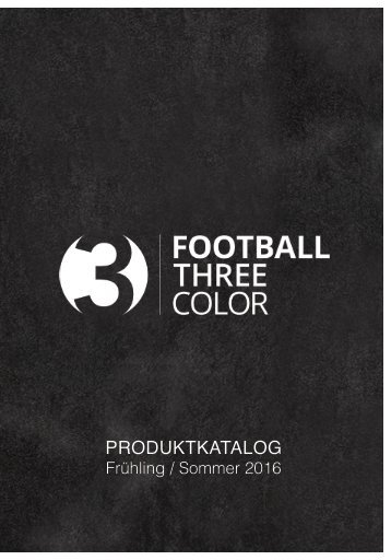 Produktkatalog Football3color