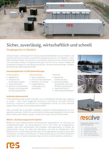 RES Renewable Energy Systems