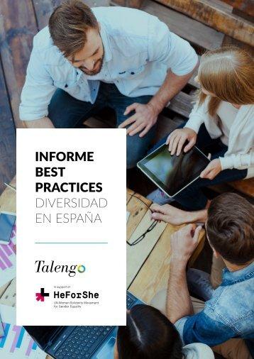 INFORME BEST PRACTICES DIVERSIDAD EN ESPAÑA