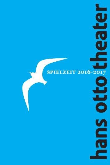 Hans Otto Theater - Spielzeit 2016 - 2017