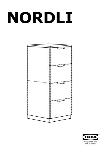 Ikea Cassettiere Nordli.Nordli Magazines