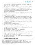 Philips SalonDry 'n Straight Sèche-cheveux - Mode d'emploi - CES - Page 7