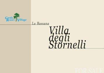 Expose: Villa degli Stornelli am Gardasee zu verkaufen - Lago di Garda Villa in vendita vers. italiano - deutsch