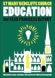 St Mary Redcliffe Church - Education Year 2 Progress Report