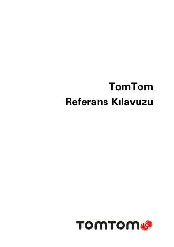 TomTom GO LIVE 1000 - PDF mode d'emploi - Türkçe