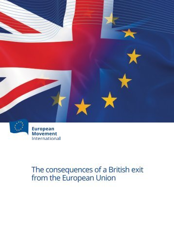 The consequences of a British exit from the European Union
