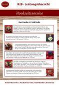 GenussBoxX B2B - Giveaways, Geschenke, Hochzeitsservice - Seite 7
