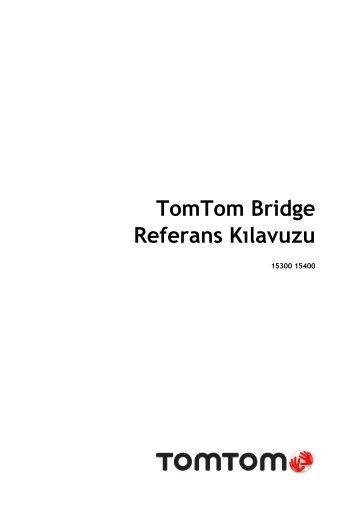 TomTom Bridge Guide de référence - PDF mode d'emploi - Türkçe